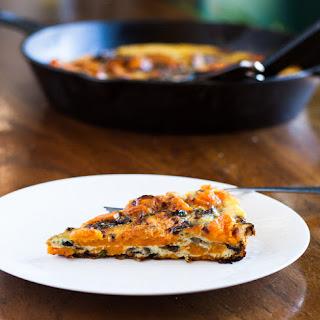 Roasted Sweet Potato and Onion Frittata
