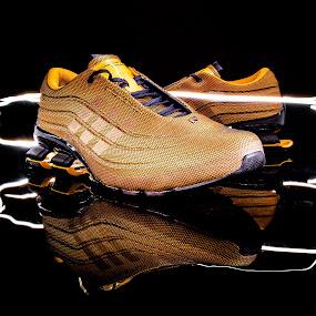 Shoes  by Steve Struttmann - Artistic Objects Clothing & Accessories ( shoes, orange, porsche, adidas, design )