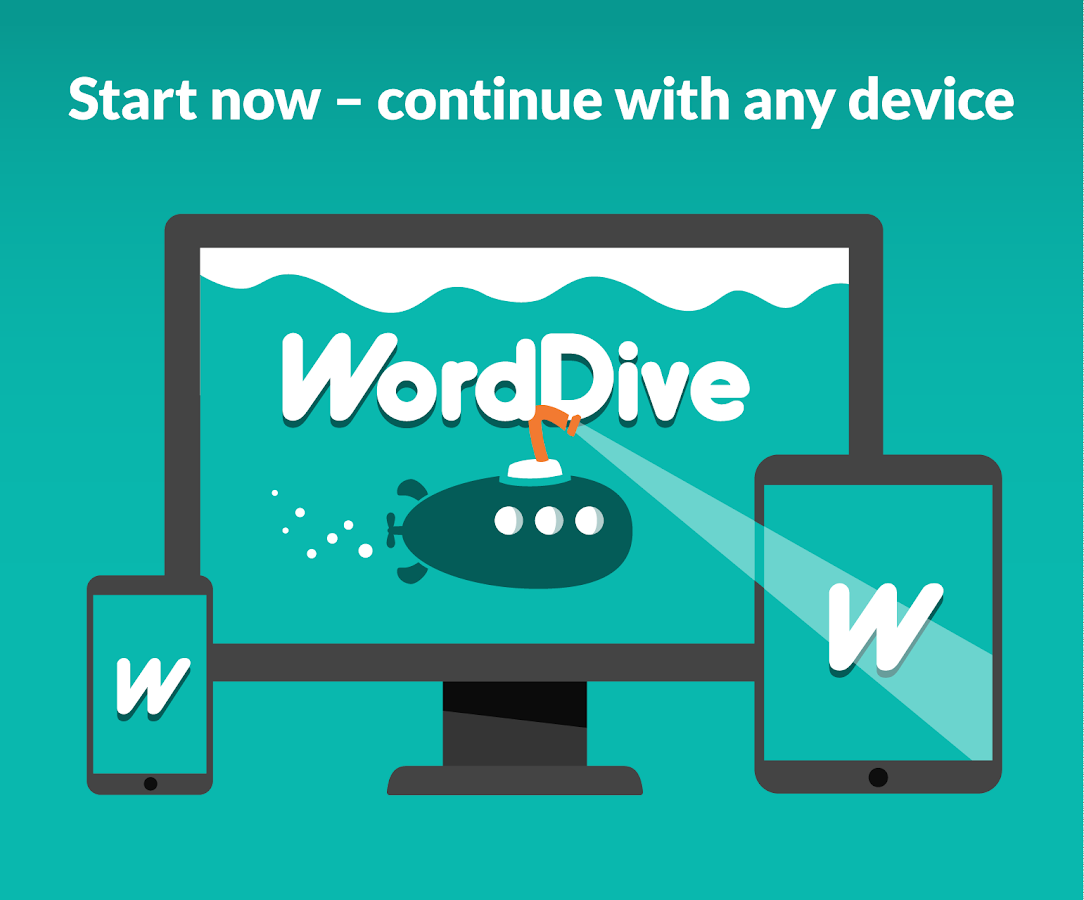 WordDive: Learn English, Spanish and French- screenshot