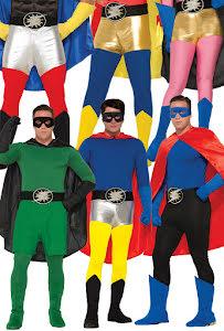 Hero tights vuxen, Storlek L