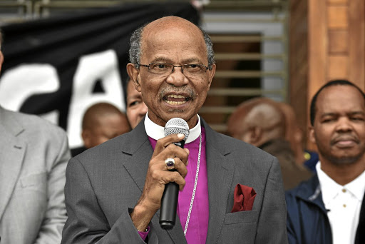 Fight for justice: Bishop Jo Seoka is to attend a Lonmin annual meeting in London to speak to shareholders over mineworkers' demands after the Marikana massacre. Picture: BUSINESS DAY