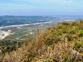 Photo: Byllis, View from the Theatre over the Aoos Valley