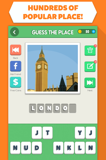 玩免費益智APP|下載Guess the Place - City Quiz! app不用錢|硬是要APP