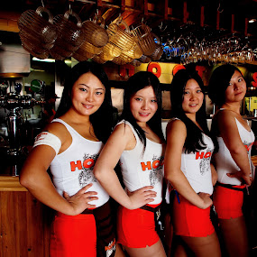 Go Hooters !!! by Obed Hariyono - People Group/Corporate