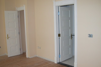 Photo: July 2006 - Month 35: Room 122 - doors installed and trimmed out