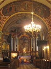 Photo: Wnętrze kościoła i klasztor Franciszkanów w Sanoku.