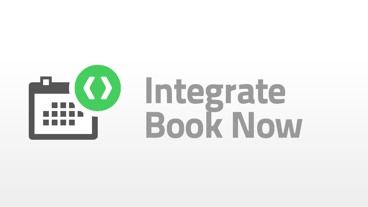 Integrate book now button in your website