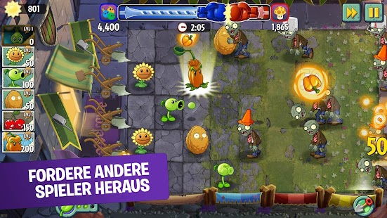Plants vs Zombies 2 Free Screenshot