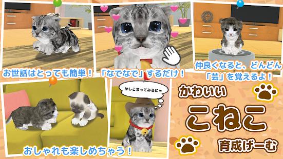 ねこ育成ゲーム - 完全無料!子猫をのんびり育てるアプリ!かわいいねこゲーム! - náhled
