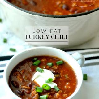 Low Fat Turkey Chili.