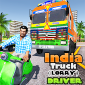 Indian Truck ( Lorry ) Driver Android APK Download Free By ActionCrab Games
