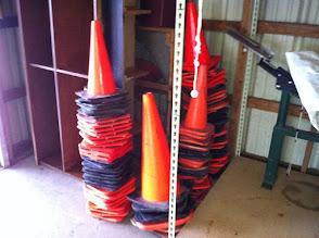 Photo: Traffic cones