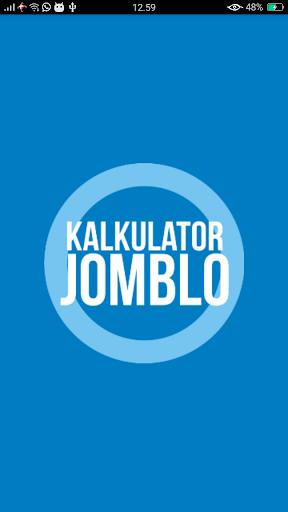 Kalkulator Jomblo 1.2 screenshots 1