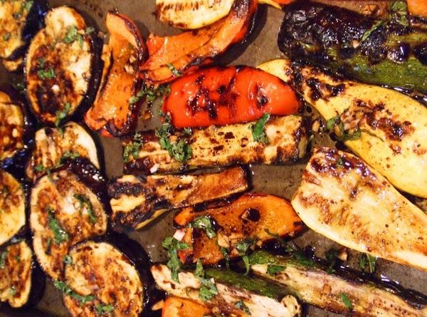 Herbed Grilled Summer Veggies Recipe