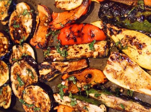 Herbed Grilled Summer Veggies Recipe