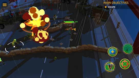 Zombie Blast Crew MOD (Unlimited Gold Coins/Diamonds) 4