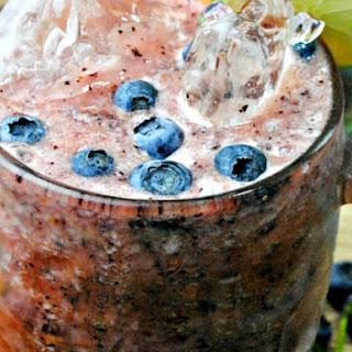 Blueberry Cantaloupe Cucumber Aqua Fresca