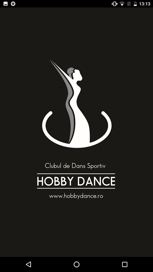 HobbyDance App- screenshot