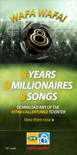 8 years, 8 millionaires, 8 songs: The #MTN8 Wafa Wafa is