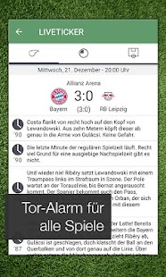 Pocket Liga - Fussball Live Screenshot