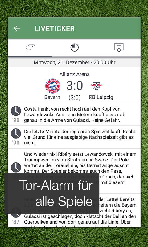 Pocket Liga - Fussball Live- screenshot