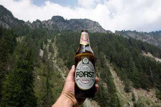 Photo: Większość włoskich piw jest w butelkach o pojemności 0,66 l.