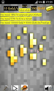 The Golden Idle Clicker - náhled
