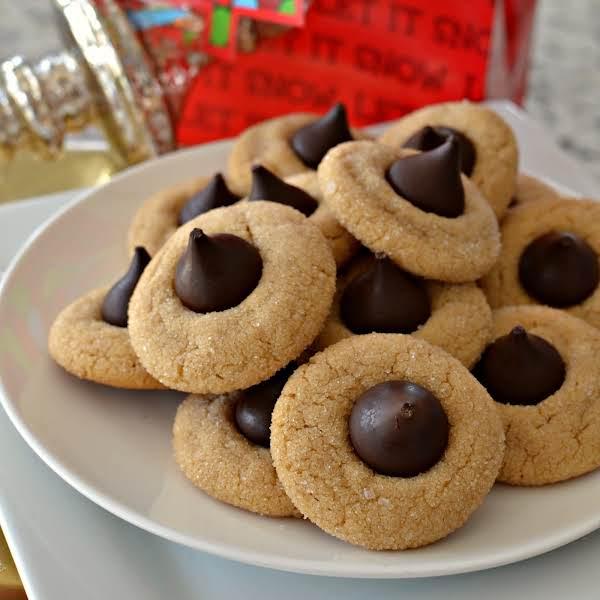 Peanut Butter Blossom Cookies Recipe