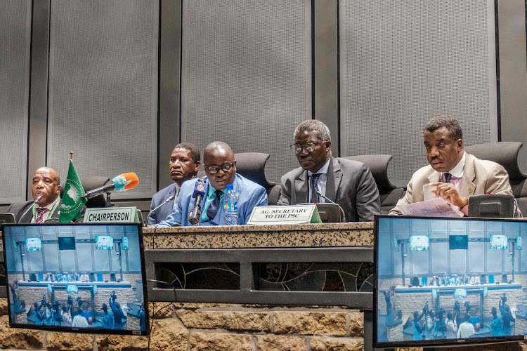 Image result for chairperson of the Peace and Security Council, Patrick Kapuwa,