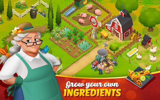 Screenshot for Tasty Town - Cooking & Restaurant Game in United States Play Store