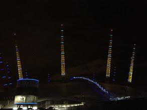 Photo: O2 by night