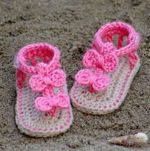 DIY Crochet Baby Slippers- screenshot thumbnail