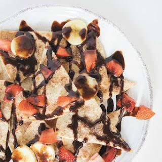 Easy Baked Dessert Nachos