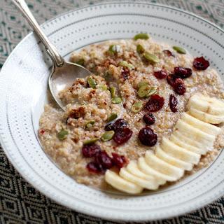 5-Minute Spiced Quinoa Coconut Porridge
