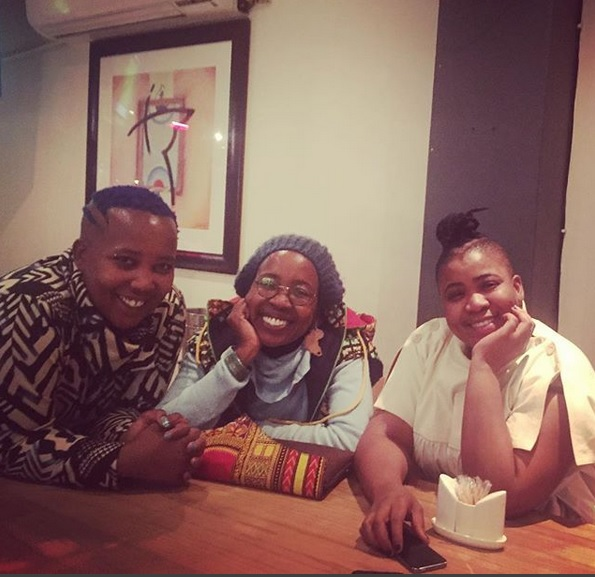 Sisters Nomsa, Ntsiki and Thandiswa Mazwai.