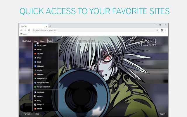 Hellsing Wallpaper HD Hellsing Anime New Tab