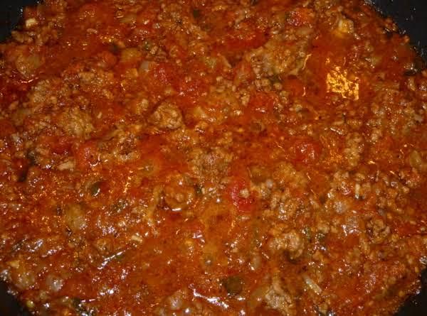 My Homemade Spaghetti Sauce