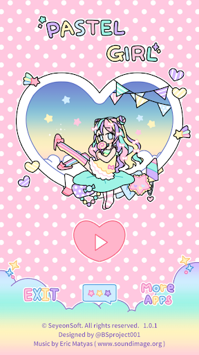 Pastel Girl  captures d'u00e9cran 1