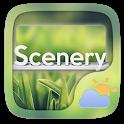Scenery Weather Widget Theme icon