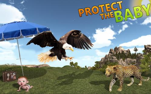 Wild Eagle Bird Simulator - náhled