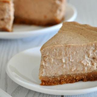 Healthy Pumpkin Spice Cheesecake Recipe