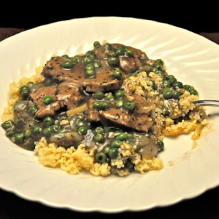 Tagine of Lamb and Peas