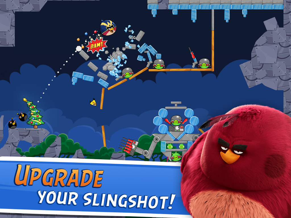 Angry Birds Friends- screenshot