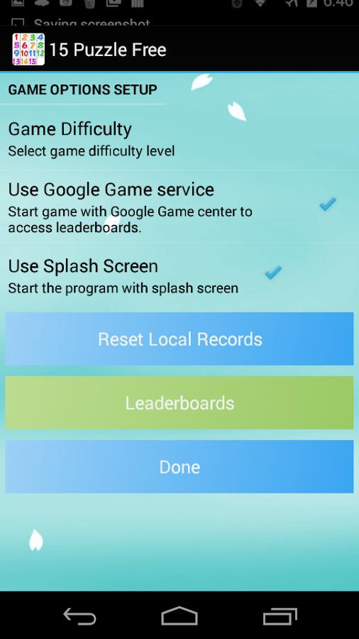 15 Puzzle Pro - screenshot