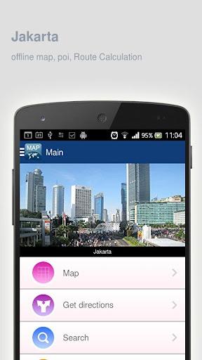 Jakarta Map offline