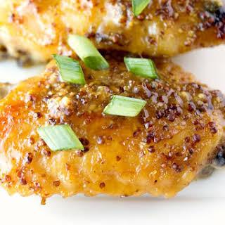 5 Ingredient Orange Glazed Chicken Wings.