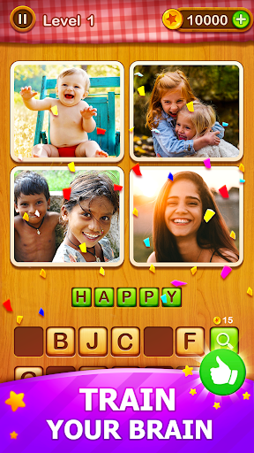 4 Pics Guess 1 Word - Word Games Puzzle Apk 2