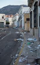Foto: El día después (lunes 16 de septiembre, 8 de la mañana)