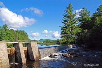 Photo: Dam at Ricker Pond State Park