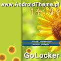 Sunflower HD GO Locker Theme icon
